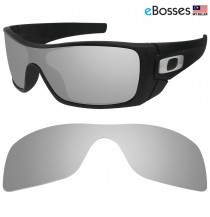 eBosses Polarized Replacement Lenses for Oakley Batwolf - Titanium