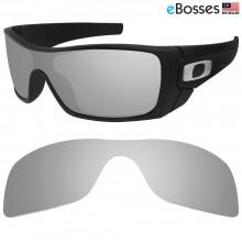 eBosses Polarized Replacement Lenses for Oakley Batwolf - Titanium