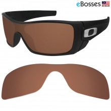 eBosses Polarized Replacement Lenses for Oakley Batwolf - Brown