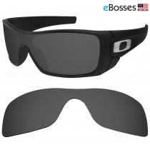 eBosses Polarized Replacement Lenses for Oakley Batwolf - Black