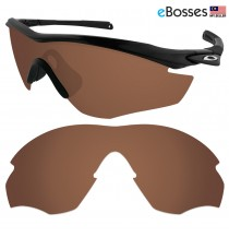 eBosses Polarized Replacement Lenses for Oakley M2 Sunglasses - Earth Brown