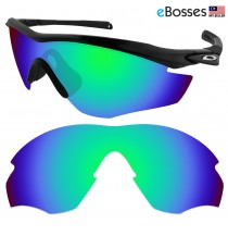 eBosses Polarized Replacement Lenses for Oakley M2 Sunglasses - Emarald Green