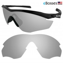 eBosses Polarized Replacement Lenses for Oakley M2 Sunglasses - Titanium