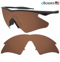 eBosses Polarized Replacement Lenses for Oakley M Frame Heater - Earth Brown