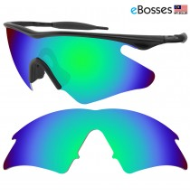 eBosses Polarized Replacement Lenses for Oakley M Frame Heater - Emarald Green