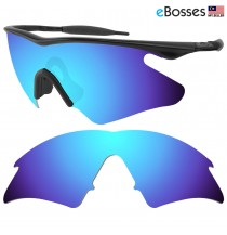 eBosses Polarized Replacement Lenses for Oakley M Frame Heater - Ice Blue