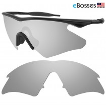 eBosses Polarized Replacement Lenses for Oakley M Frame Heater - Titanium