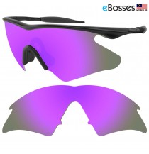 eBosses Polarized Replacement Lenses for Oakley M Frame Heater - Violet Purple
