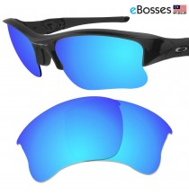 eBosses Polarized Replacement Lenses for Oakley Flak Jacket XLJ - Ice Blue