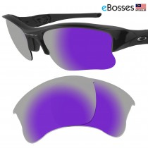 eBosses Polarized Replacement Lenses for Oakley Flak Jacket XLJ - Violet Purple