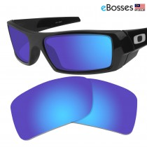 eBosses Polarized Replacement Lenses for Oakley Gascan - Dark Blue