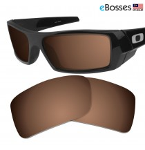 eBosses Polarized Replacement Lenses for Oakley Gascan - Earth Brown