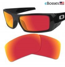 eBosses Polarized Replacement Lenses for Oakley Gascan - Fire Red
