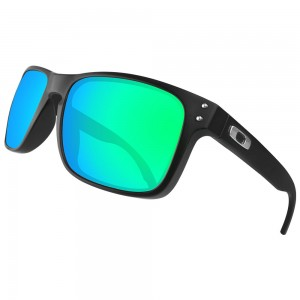 eBosses Polarized Replacement Lenses for Oakley Holbrook - Emarald Green