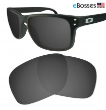 eBosses Polarized Replacement Lenses for Oakley Holbrook - Solid Black