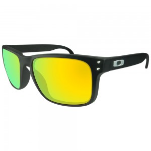eBosses Polarized Replacement Lenses for Oakley Holbrook - Gold Green