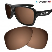 eBosses Polarized Replacement Lenses for Oakley Dispatch 2 - Earth Brown