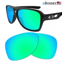 eBosses Polarized Replacement Lenses for Oakley Dispatch 2 - Emarald Green