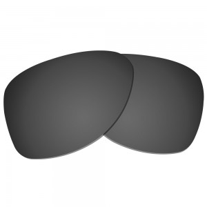 eBosses Polarized Replacement Lenses for Oakley Dispatch 2 - Solid Black