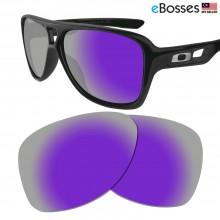 eBosses Polarized Replacement Lenses for Oakley Dispatch 2 - Violet Purple