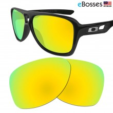eBosses Polarized Replacement Lenses for Oakley Dispatch 2 - Gold Green