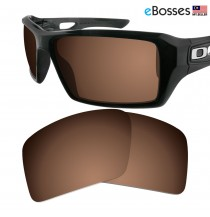 eBosses Polarized Replacement Lenses for Oakley Eyepatch 2 - Earth Brown