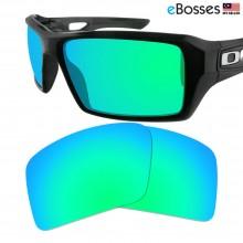 eBosses Polarized Replacement Lenses for Oakley Eyepatch 2 - Emarald Green