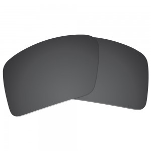 eBosses Polarized Replacement Lenses for Oakley Eyepatch 2 - Solid Black