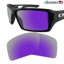 eBosses Polarized Replacement Lenses for Oakley Eyepatch 2 - Violet Purple