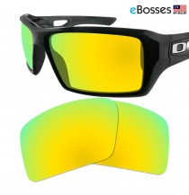 eBosses Polarized Replacement Lenses for Oakley Eyepatch 2 - Gold Green