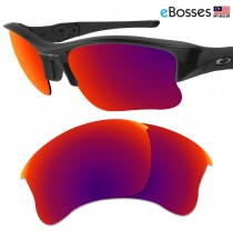 eBosses Polarized Replacement Lenses for Oakley Flak Jacket XLJ - Midnight