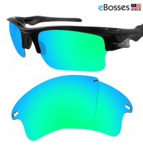 eBosses Polarized Replacement Lenses for Oakley Fast Jacket XL - Emarald Green