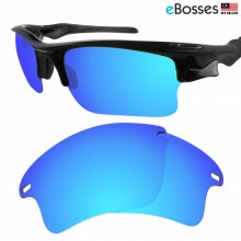 eBosses Polarized Replacement Lenses for Oakley Fast Jacket XL - Ice Blue