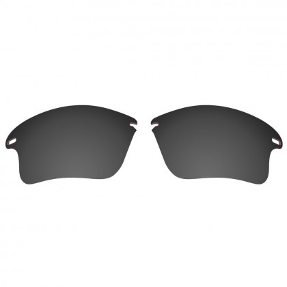 eBosses Polarized Replacement Lenses for Oakley Fast Jacket XL - Solid Black