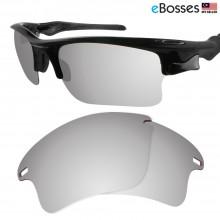 eBosses Polarized Replacement Lenses for Oakley Fast Jacket XL - Titanium