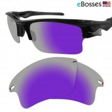 eBosses Polarized Replacement Lenses for Oakley Fast Jacket XL - Violet Purple
