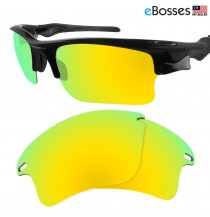 eBosses Polarized Replacement Lenses for Oakley Fast Jacket XL - 24K Gold