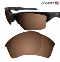 eBosses Polarized Replacement Lenses for Oakley Half Jacket 2.0 XL - Earth Brown