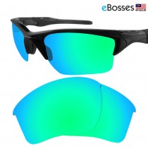 eBosses Polarized Replacement Lenses for Oakley Half Jacket 2.0 XL - Emarald Green