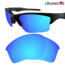 eBosses Polarized Replacement Lenses for Oakley Half Jacket 2.0 XL - Ice Blue