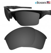 eBosses Polarized Replacement Lenses for Oakley Half Jacket 2.0 XL - Solid Black