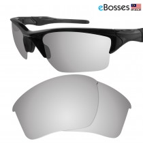 eBosses Polarized Replacement Lenses for Oakley Half Jacket 2.0 XL - Titanium