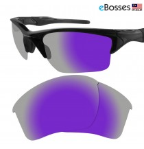 eBosses Polarized Replacement Lenses for Oakley Half Jacket 2.0 XL - Violet Purple