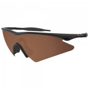 eBosses Polarized Replacement Lenses for Oakley M Frame Sweep - Earth Brown