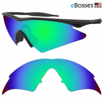 eBosses Polarized Replacement Lenses for Oakley M Frame Sweep - Emarald Green