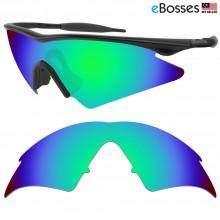 eBosses Polarized Replacement Lenses for Oakley M Frame Sweep - Emarald Green