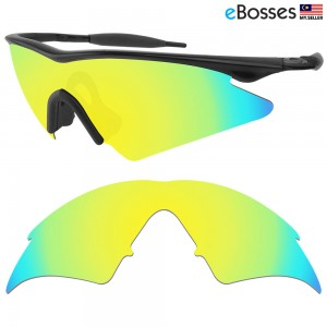 eBosses Polarized Replacement Lenses for Oakley M Frame Sweep - 24K Gold