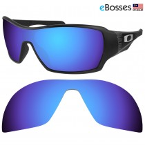 eBosses Polarized Replacement Lenses for Oakley Offshoot - Dark Blue