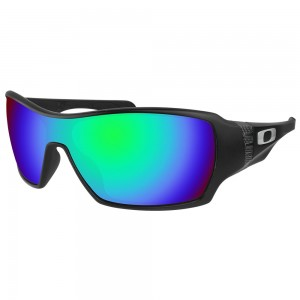 eeBosses Polarized Replacement Lenses for Oakley Offshoot - Emarald Green