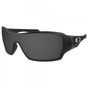eBosses Polarized Replacement Lenses for Oakley Offshoot - Solid Black